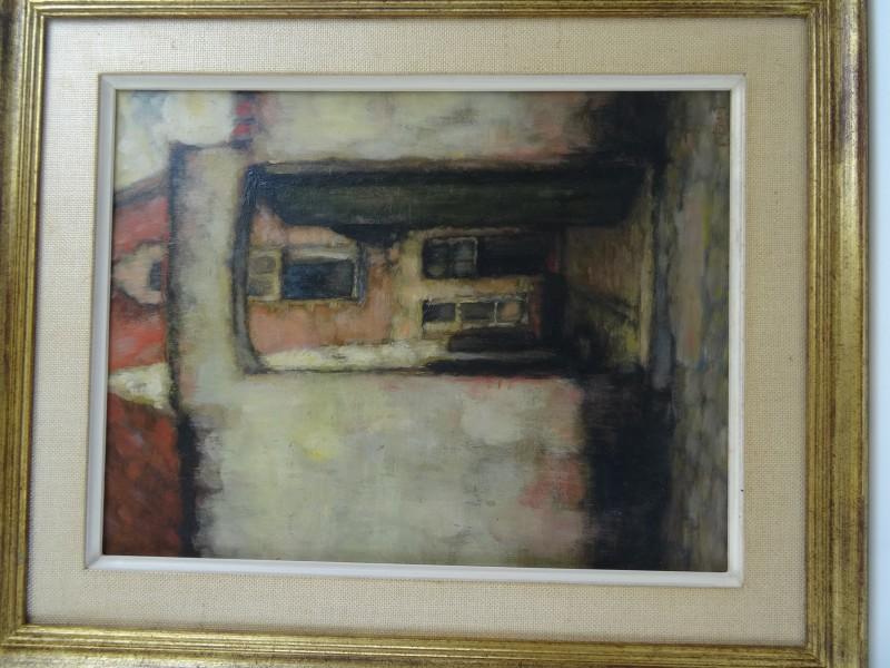 Ernest Faut: schilderij begijnhoftafereel
