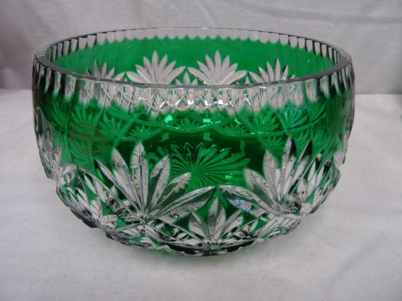 Glazen bowl Ajka Hongarije