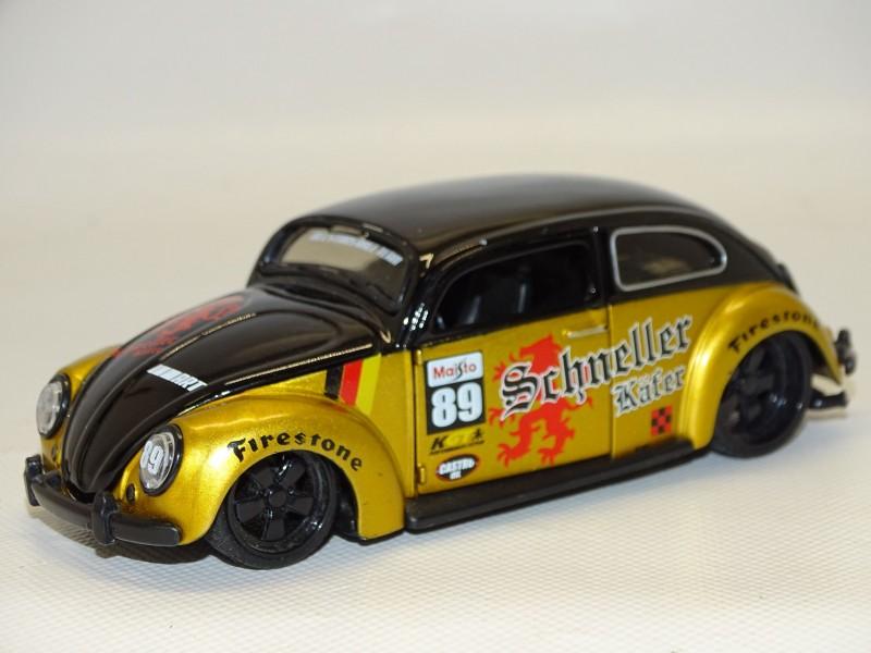 Schaalmodel: Volkswagen Beetle, Custom Allstar, Maisto