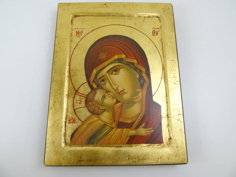 icoon moeder Maria en kind