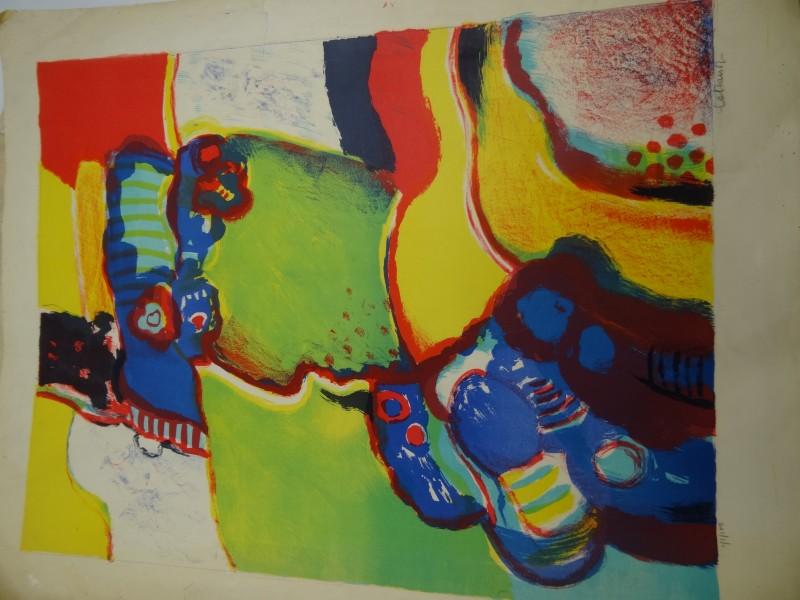 Jan Cobbaert:  2 gesigneerde kleurenzeefdrukken beperkte editie