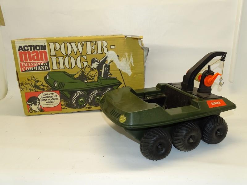 Vintage Action Man, Power Hog Transport Command, Palitoy