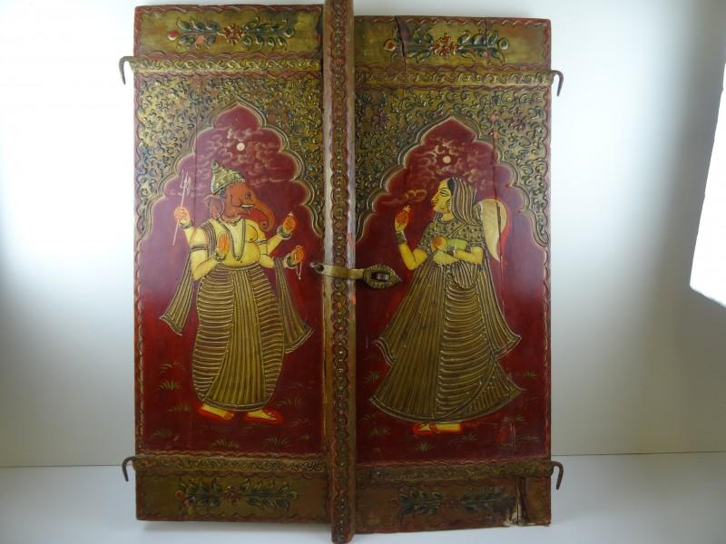 Antieke Indische vensterluiken