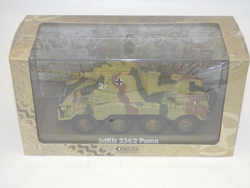 SdKfz 234/2 Puma Schaal Model, Atlas Collection