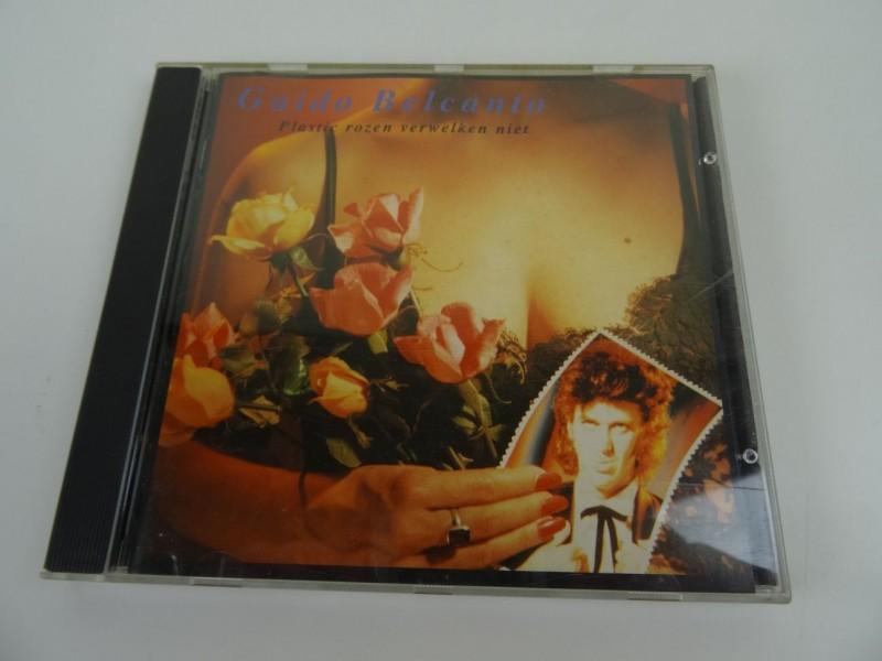 CD Guido Belcanto - Plastic rozen verwelken niet