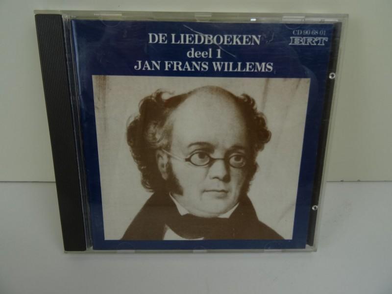 CD Jan Frans Willems - De Liedboeken (deel 1)