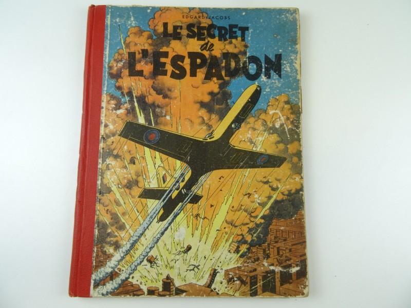 Henri Lescourt: 5 eenden tussen het riet 20e eeuw