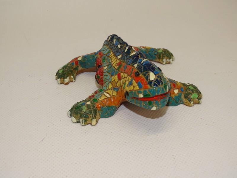 Miniatuur Draak (Salamander) Park Güell