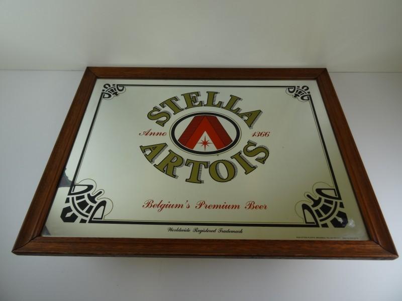"Reclame spiegel ""Stella Artois"""