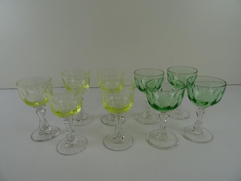 9 uranium kristal glazen