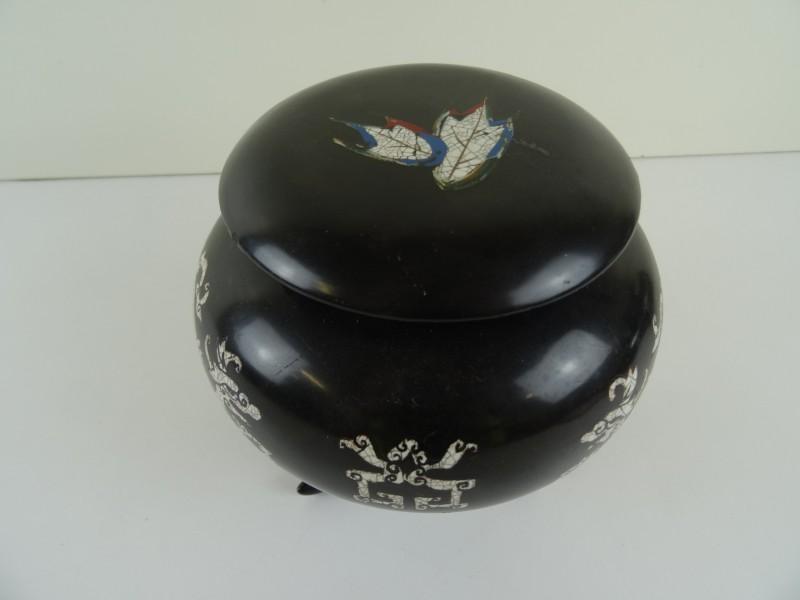 antieke pot (thee?)