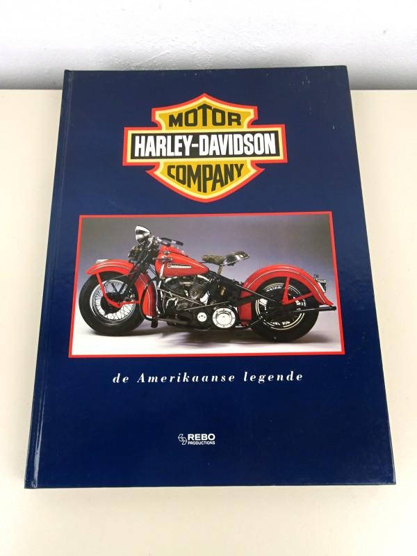 Boek: Harley-Davidson