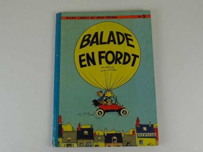 Marc Lebut T3 - Balade en Ford T -  Eerste druk - (1970)