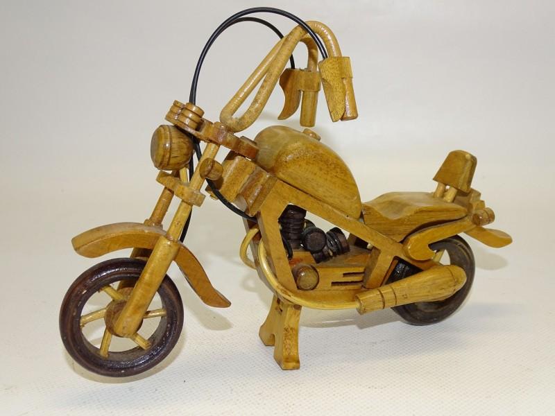 Houten Moto / Shopper