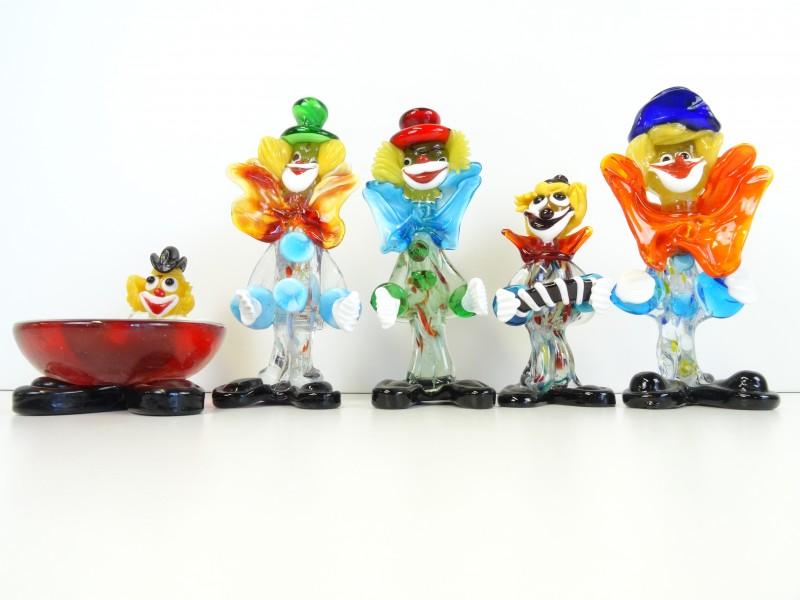 LOT Murano Clowns