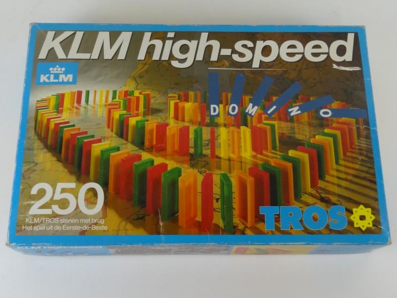 KLM - High Speed Domino Spel