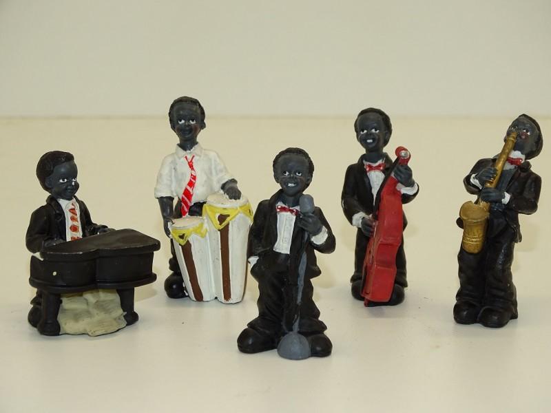 Mini Porseleinen Jazz Band