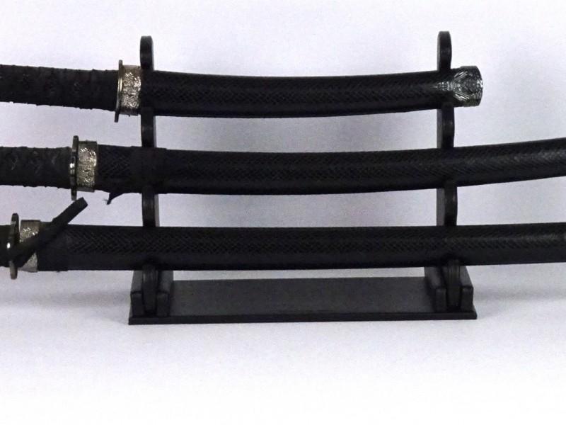 Set samoerai zwaarden