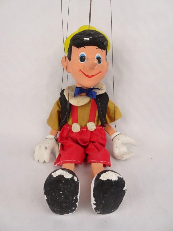 Vintage handpop Pinokkio.