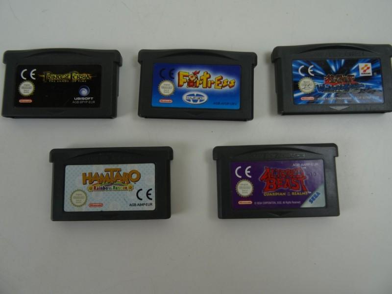 5 Game Boy Advance games