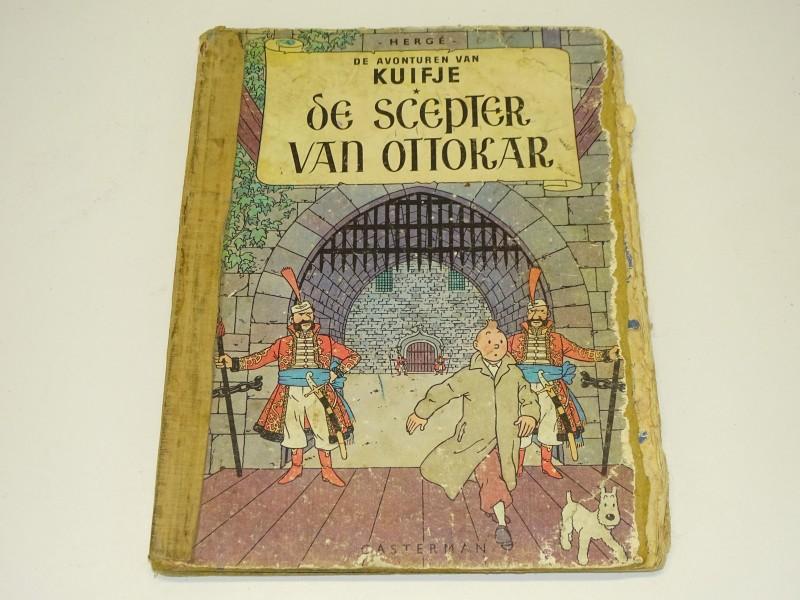 Oude Strip Kuifje: De Scepter Van Ottokar