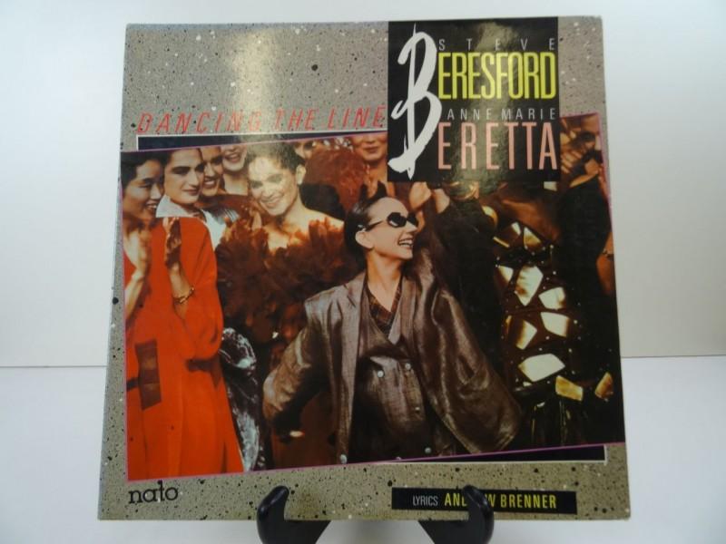Steve Beresford & Anne Marie Beretta – Dancing The Line / LP