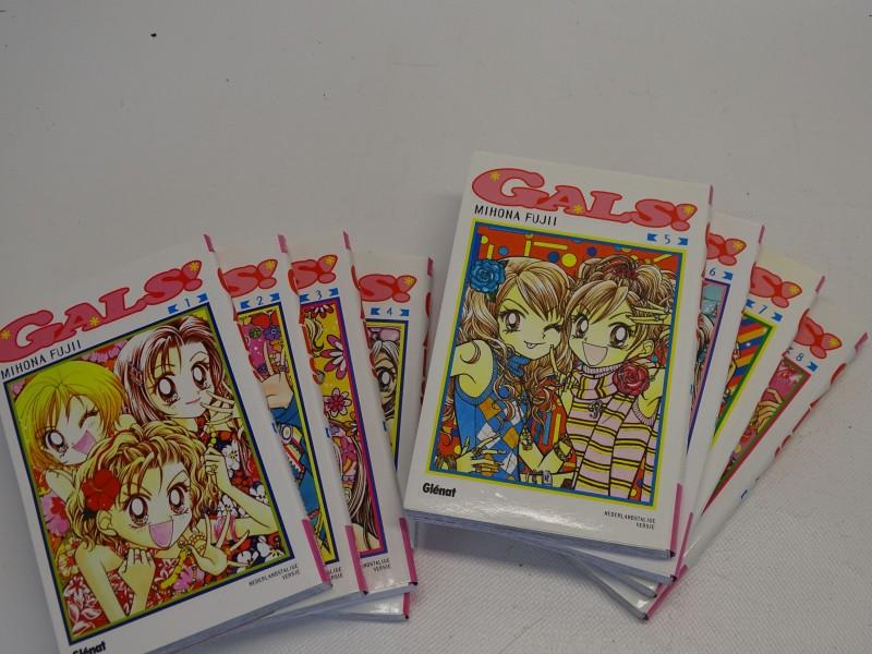 Manga, 8 delen, GALS!, Mihona Fujii, Glénat, 1998