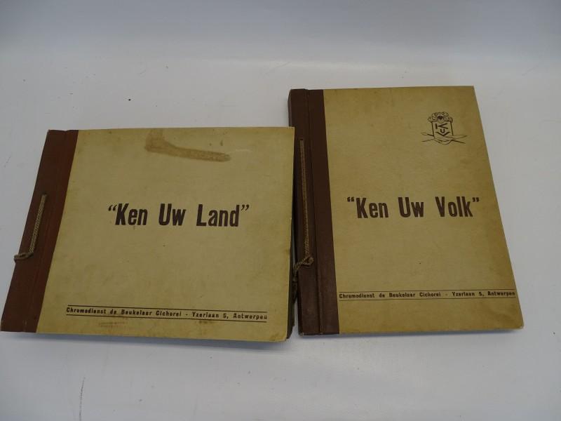 Albums Ken Uw Volk, Ken Uw Land, De Beukelaar, Jaren 50