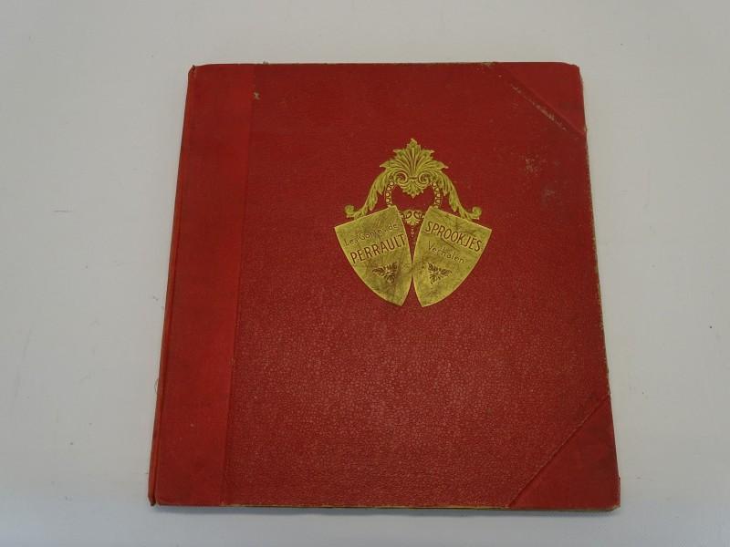 Plaatjesalbums; Les Contes De Perrault, Sprookjes Verhalen, Jaren 30