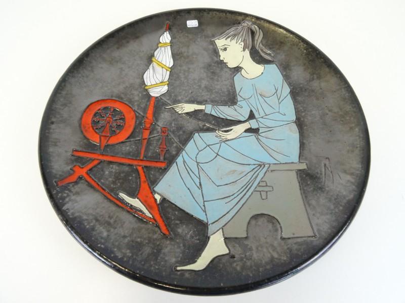 Joost Maréchal: Schaal circa helft 20e eeuw keramiek