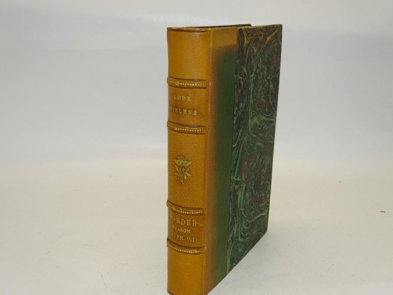 Boek Moeder Waarom Leven Wij, Lode Zielens, (Mogelijk Eerste Druk), 1932