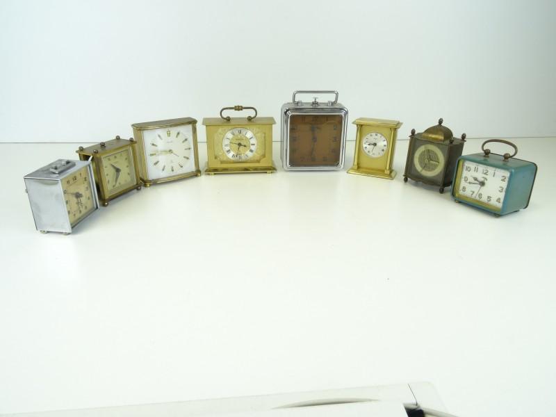 Lot vintage wekkers