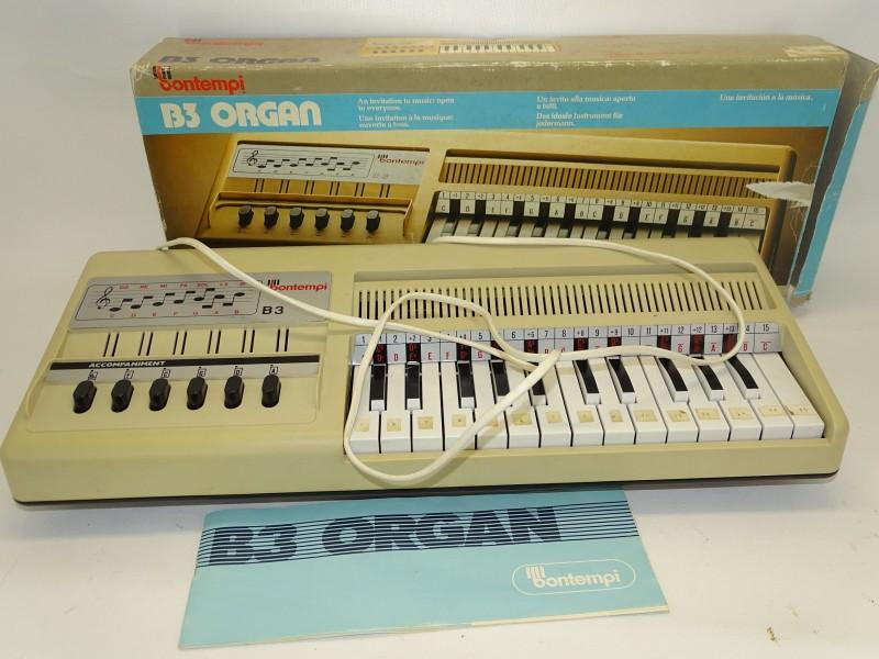 Retro Elektrisch Orgeltje, Bontempi, BR3