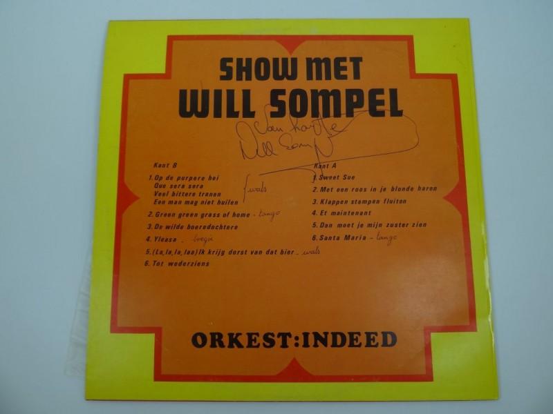 Will Sompel & Indeed - Show met... - gesigneerd exemplaar
