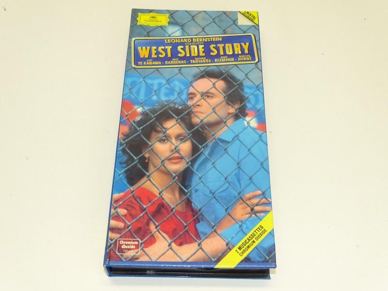 2 Cassettes: West Side Story, Leonard Bernstein, 1985