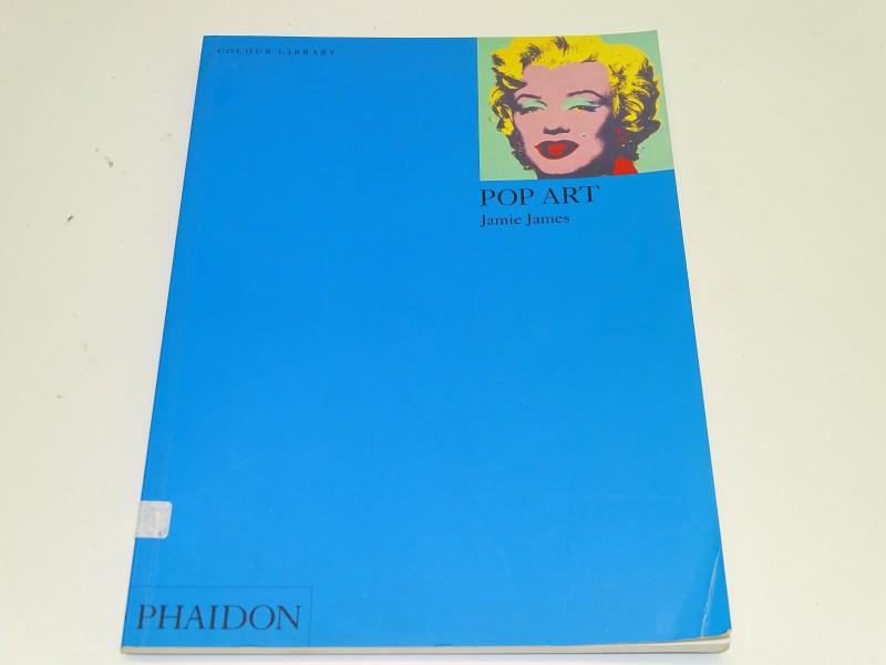 Boek: Pop Art, Jamie James, Phaidon, 2003