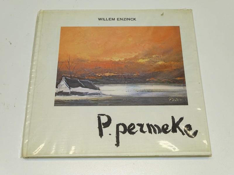 Kunstboek: P. Permeke, Willem Enzinck, Calatra Press