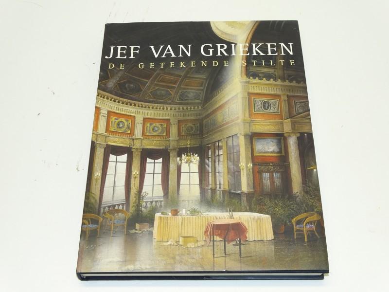 Gesigneerd Boek: De Getekende Stilte, Jef Van Grieken, 2000