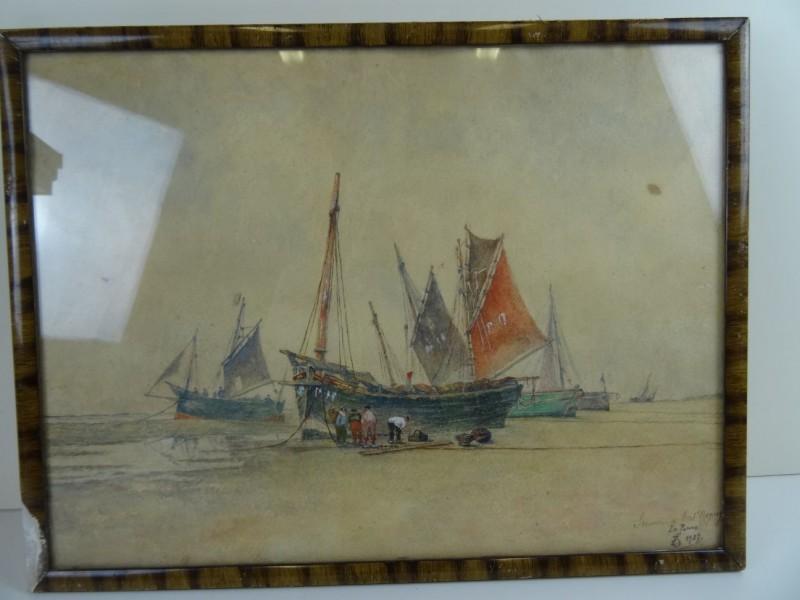 tekening La Panne 1927