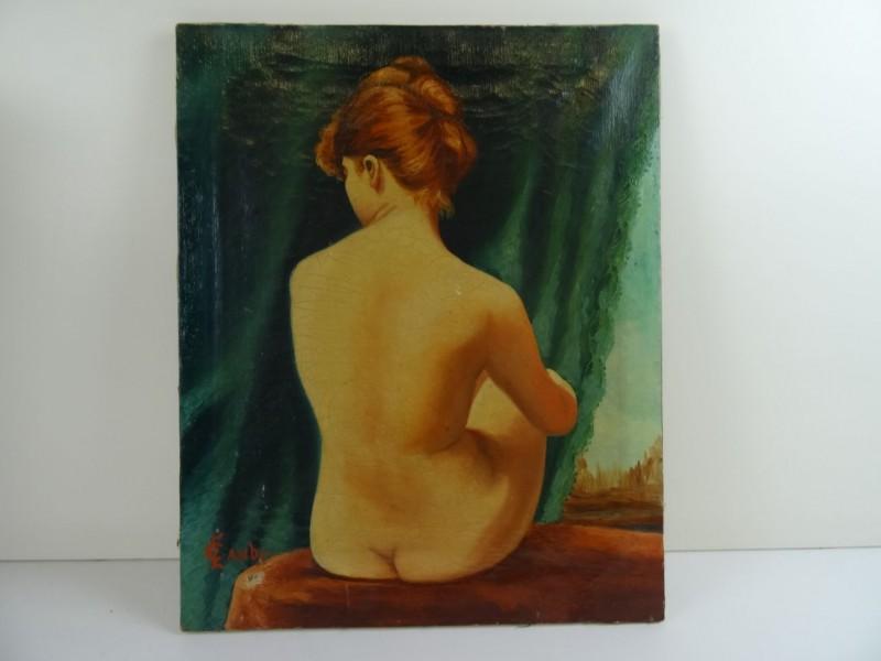 Edouard Camby : jonge vrouw 20e eeuw