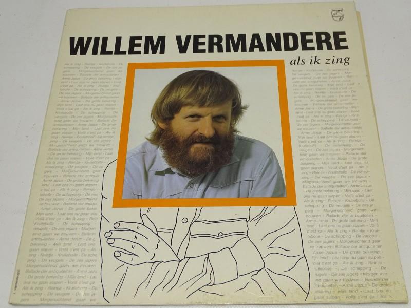 LP, Willem Vermandere, Als Ik Zing, 1984