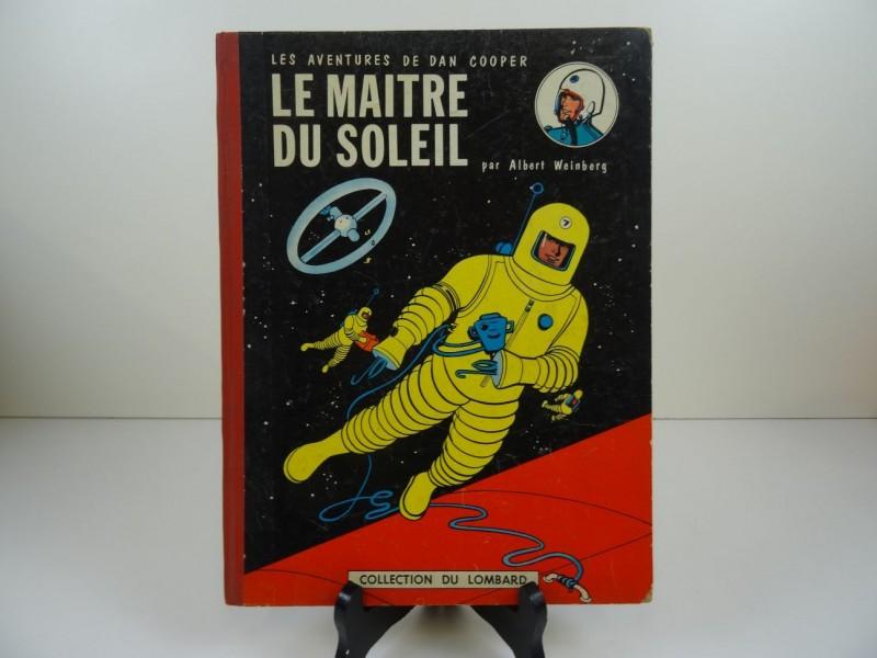 Albert Weinberg: Dan Cooper: Le maître du soleil 1958 zonder Kuifjespunt