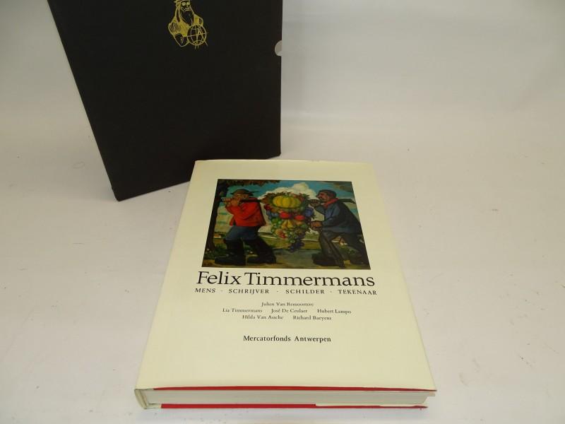 Kunstboek, Felix Timmermans, Mercatorfonds Antwerpen, 1972
