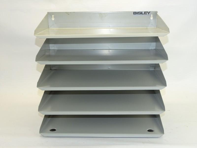 Bisley, Metalen Brievenbakje/Sorteerrekje