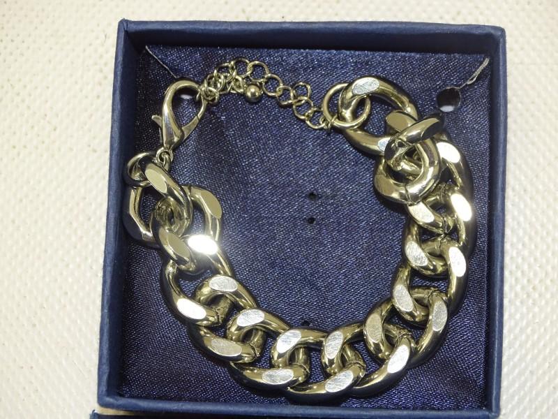Zilverkleurig Armbandje, 23 cm