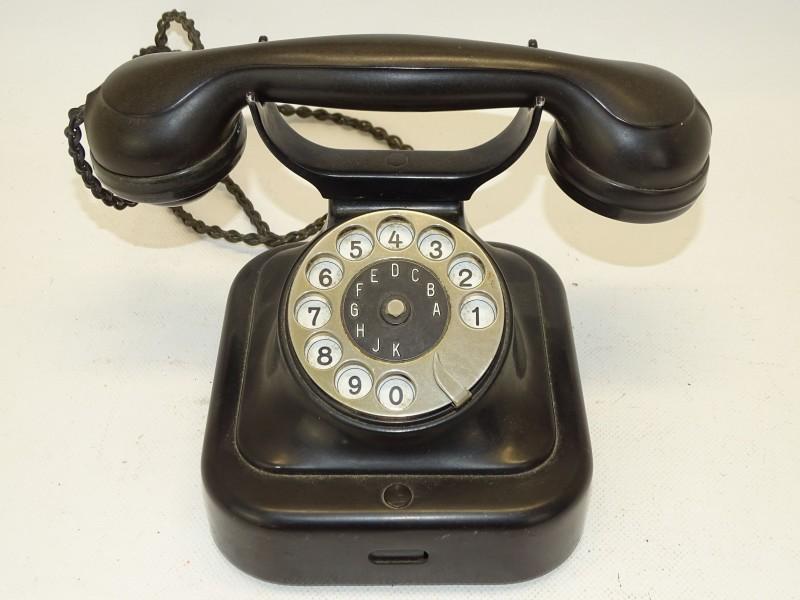 Oude Telefoon, Bakeliet, Siemens & Halske
