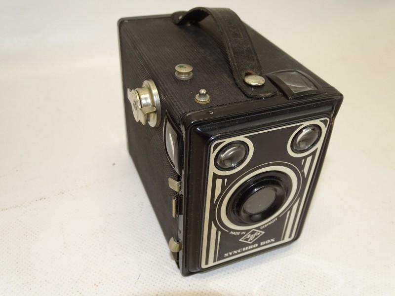 Fototoestel Agfa Synchro Box