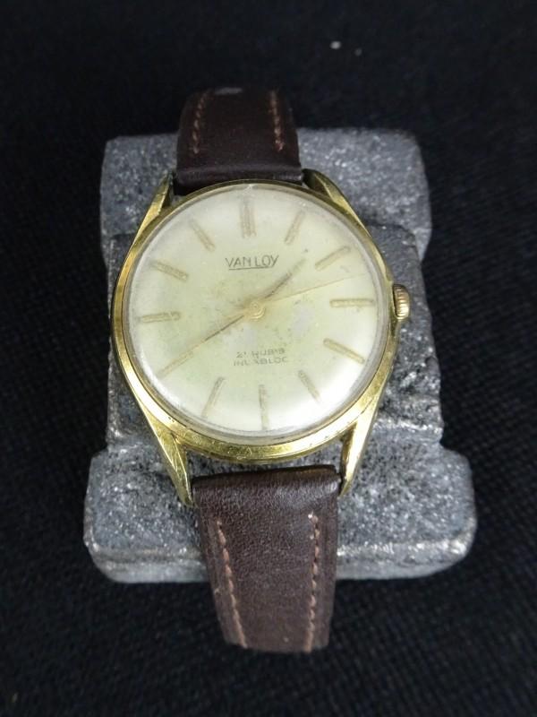 Vintage herenhorloge (VANLOY)