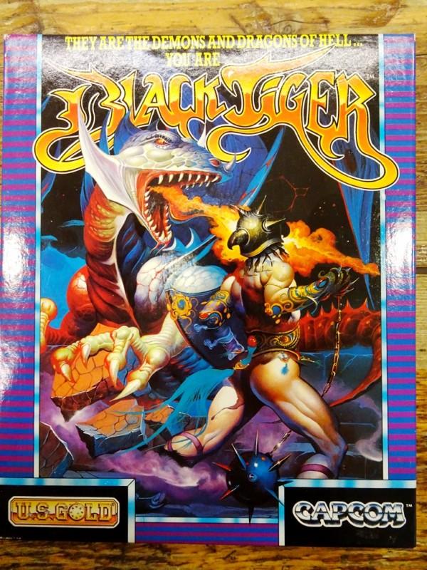 Atari ST - Black Tiger