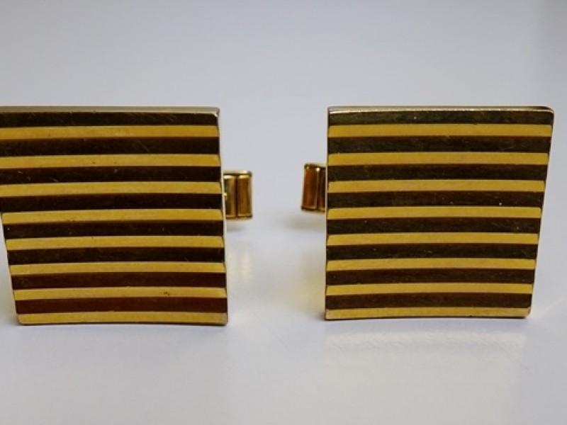 gouden manchetteknopen